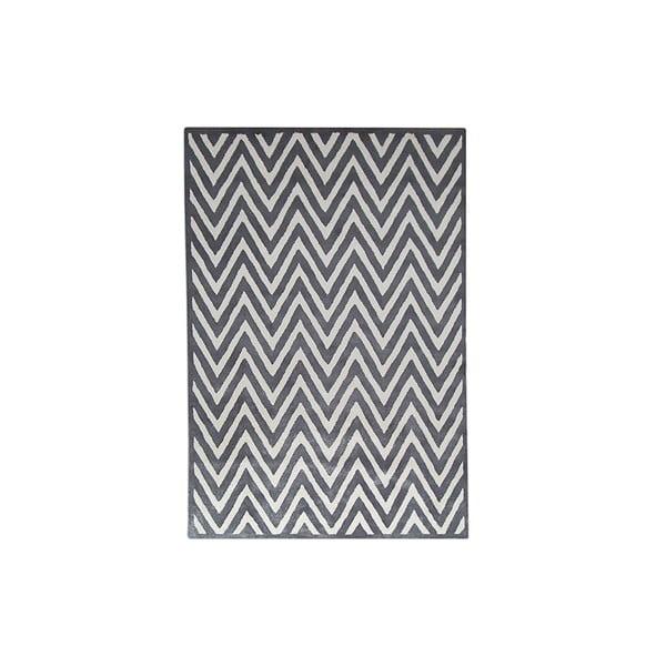Koberec Ziggy Grey Ivory, 152x91 cm