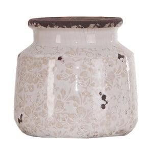 Skleněná váza/dóza Last Deco, ø 16 x 15 cm