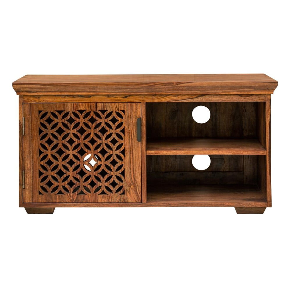 TV stolek z masivního palisandrového dřeva Massive Home Rosie, délka115cm