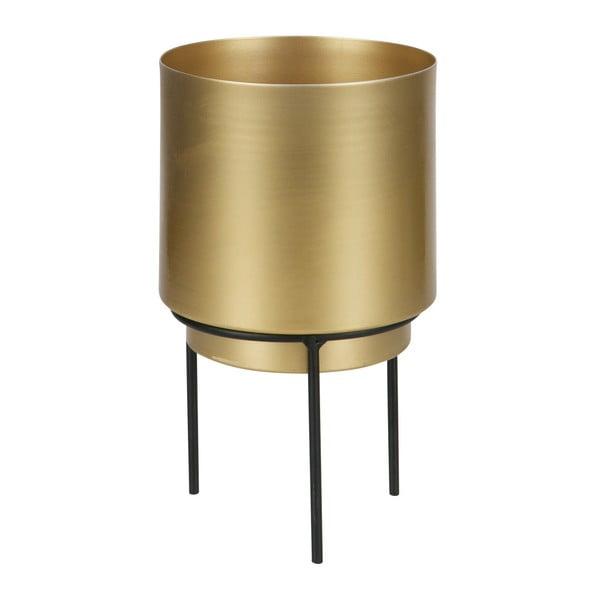 Guus aranyszínű kaspó, ⌀ 13 cm - WOOOD