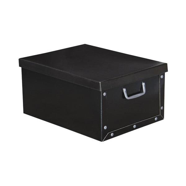 Úložná krabice Ordinett Uni Black