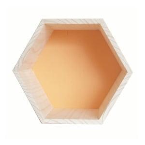 Dekorace Hexagono Nordic Ocre