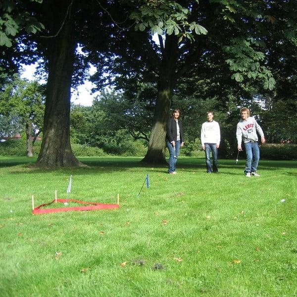 Zahradní hra pro celou rodinu Dropin Hood (trefa do branky)