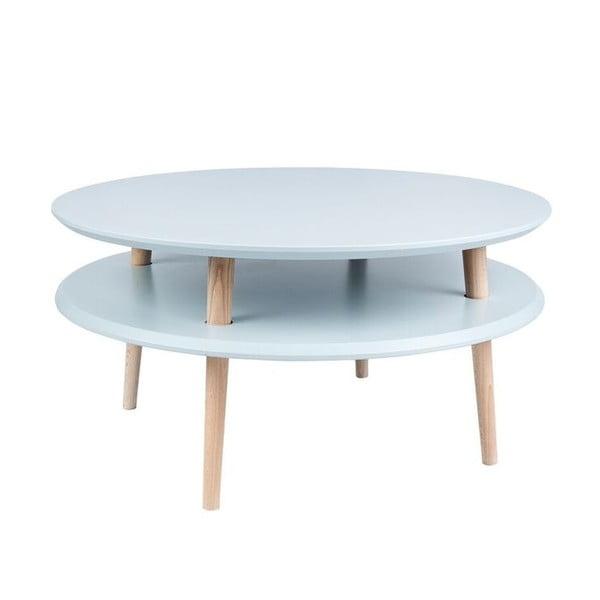 Světle šedý konferenční stolek Ragaba UFO,⌀70cm