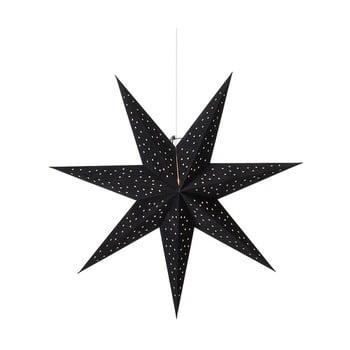 Decorațiune luminoasă suspendată Markslöjd Clara, ø 75 cm, negru imagine