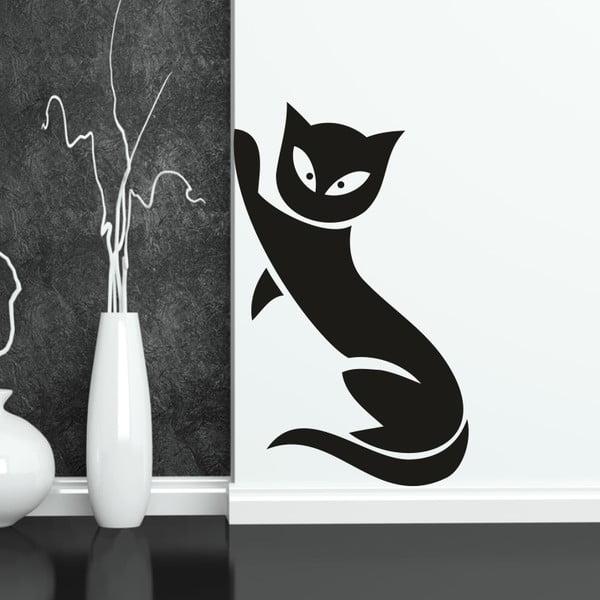 Samolepka na stěnu Wallvinil Kočka, levá strana