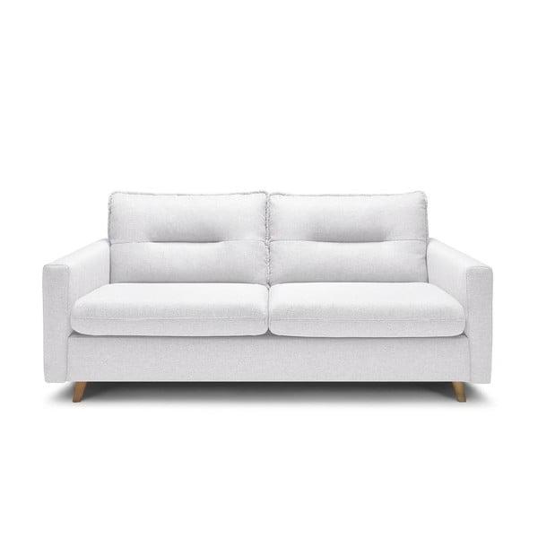 Sinki fehér háromszemélyes kinyitható kanapé - Bobochic Paris
