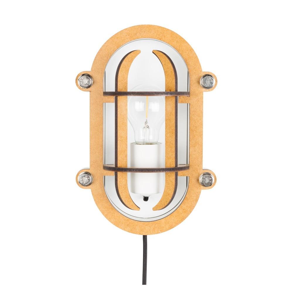 Bílá nástěnná lampa Zuiver Navigator