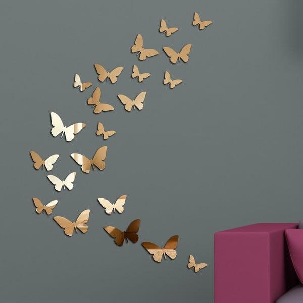 Dekorativní zrcadlo Motýlí rej
