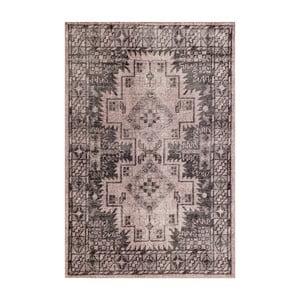 Šedý ručně vázaný vlněný koberec Linie DesignSentimental,140x200cm