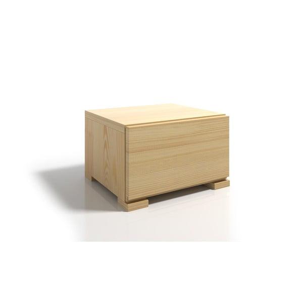 Noptieră din lemn de pin cu sertar SKANDICA Vestre