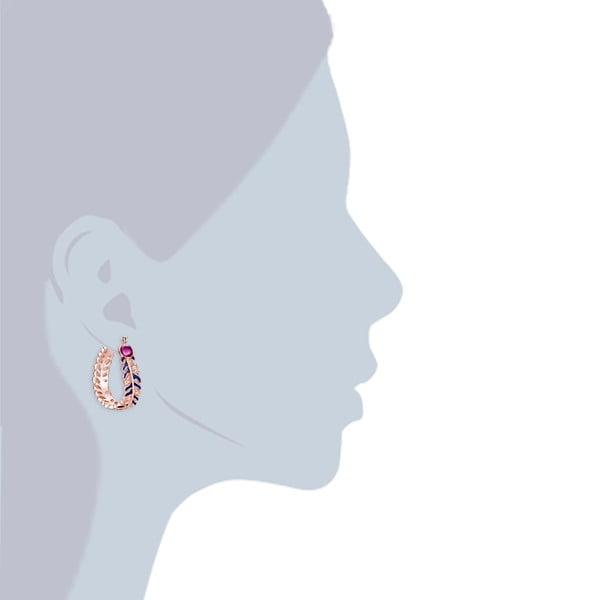 Náušnice s krystaly Swarovski Lilly & Chloe Jolene