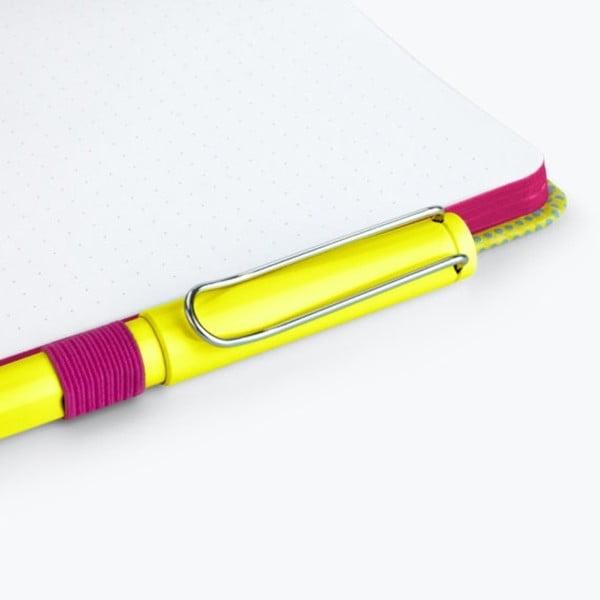 Žlutý zápisník Just Mustard T-Rex, 190stránek