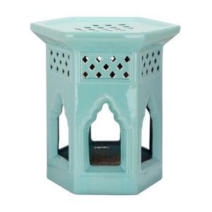 Stolek Moroccan Light Aqua