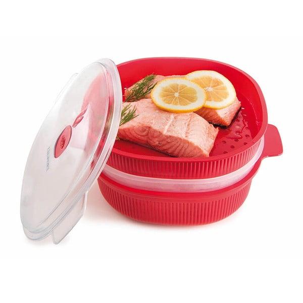 Set alimente, potrivit pentru încălzirea la microunde Snips Steamer, 4 l
