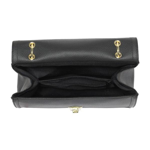 Kožená kabelka Andrea Cardone 933 Black