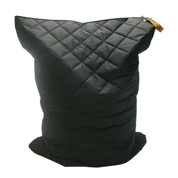 Černý sedací vak OVERSEAS Quilt Beanbag