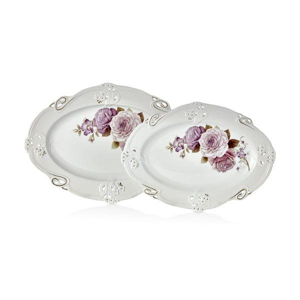 Sada 2 porcelánových tanierov Franz Dmitry