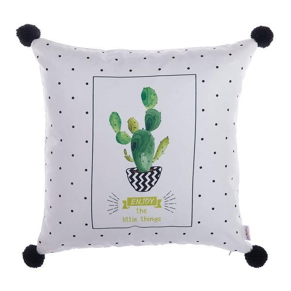 Povlak na polštář Apolena Pompom Cactus, 43x43cm