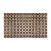 Vinylový koberec Faaria Brown, 52x140 cm