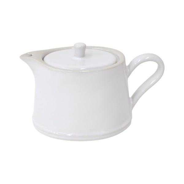 Bílá kameninová konvice na čaj Costa Nova Astoria, 500ml