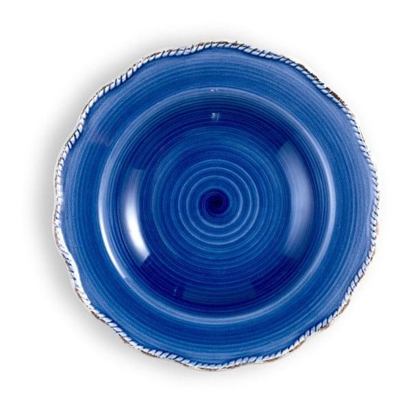 Střední modrý talíř Brandani