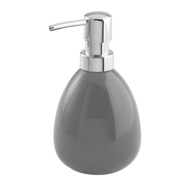 Šedý dávkovač na mýdlo Wenko Polaris