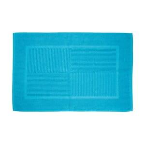 Koupelnová předložka, 80x50 cm, modrá