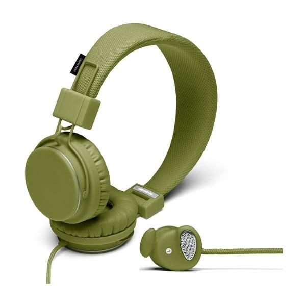 Sluchátka Plattan Olive + sluchátka Medis Olive ZDARMA