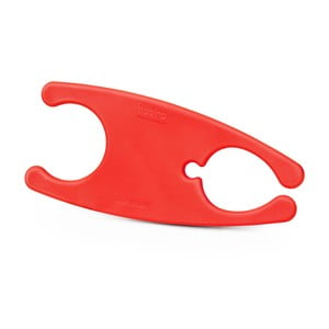 Červená spona na kabely Bobino Cord Wrap, XL