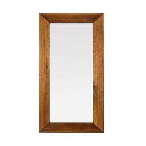 Oglindă de perete cu ramă din lemn masiv  Moycor Star