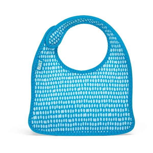 Set 2 bryndáčky, taška na 2 lahve a obal na 2 dudlíky, Dots Blue