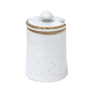 Bílá dóza z kameniny Casafina Sardegna,150ml