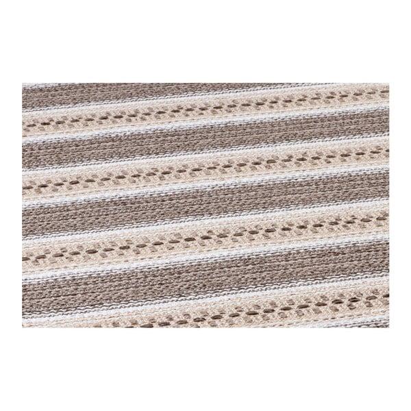 Hnědý koberec vhodný do exteriéru Narma Runo, 70x100cm