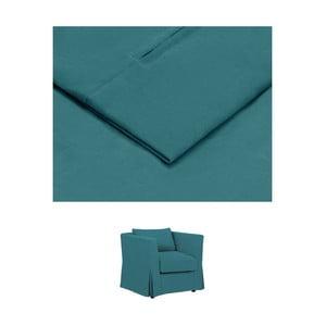 Tyrkysový povlak na křeslo THE CLASSIC LIVING Jean