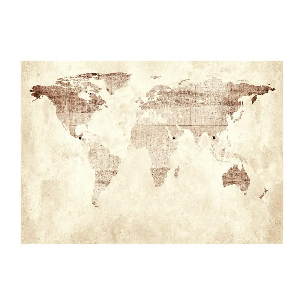 Velkoformátová tapeta Bimago Precious Map, 400x280cm