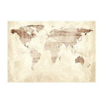 Tapet format mare Bimago Precious Map, 400 x 280 cm imagine