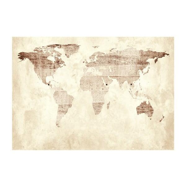 Tapet format mare Bimago Precious Map, 400 x 280 cm