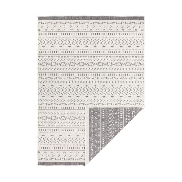 Šedo-krémový venkovní koberec Bougari Kuba, 290 x 200 cm