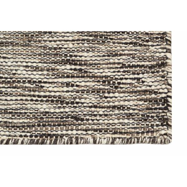 Ručně tkaný koberec Brown Signal Kilim, 110x155 cm