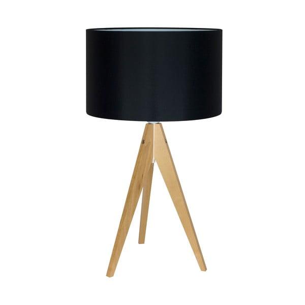 Stolní lampa Artist Black/Birch, 40x33 cm