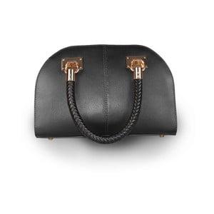 Černá kabelka z pravé kůže JOHN FISH Screpp