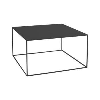 Masă de cafea Custom Form Tensio, 80 x 80 cm, negru imagine