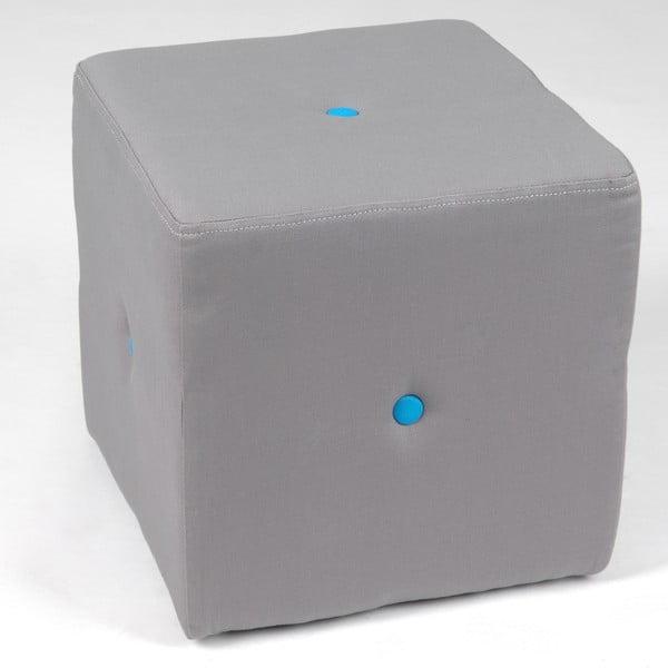 Sedací puf Blue Button