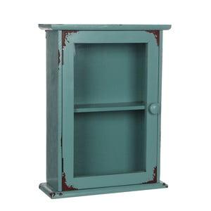 Zelená skříňka na klíče Mica Andrea, 32x42,5cm