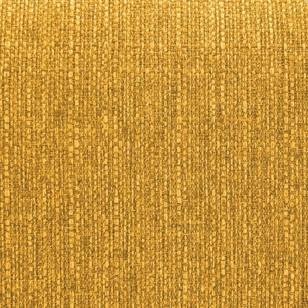 Hořčicově žlutá rohová pohovka s lenoškou na levé straně Vivonita Milton