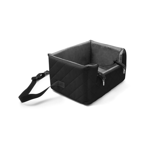 Černá přepravní taška pro psa do auta Marendog Travel, 40 x 47 x 25 cm