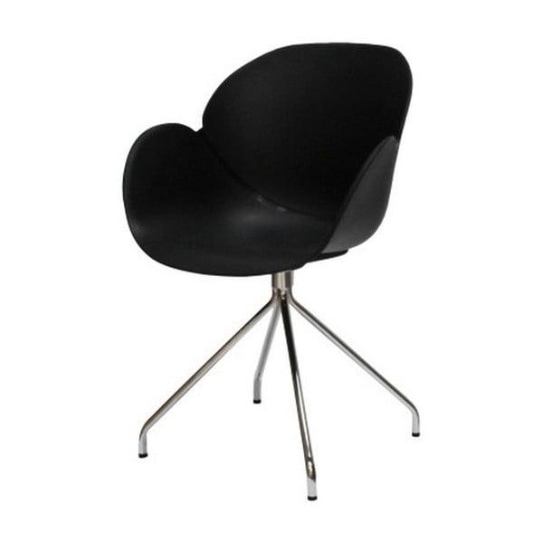 Černá jídelní židle Canett Oliver