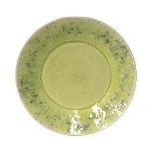 Zelený kameninový dezertní talíř Costa Nova Madeira, ⌀21cm