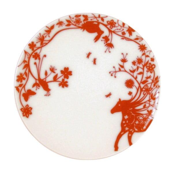 Sada 2 dezertních talířů Mohican Horse